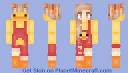 Duck Girl + Boy Version Minecraft Skin