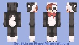 🐺~ spoopy husky + female version Minecraft Skin