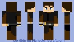 Anakin skywalker I made it myself Minecraft Skin
