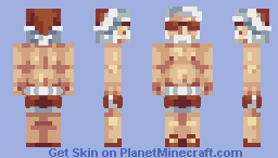 Christmas in July in October   pbl s18 w4 Minecraft Skin
