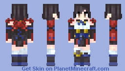Mumei - Kabaneri of the Iron Fortress Minecraft