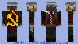 Metro Soviet Minecraft Skin