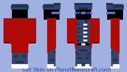 The Man Never Seen (My skin contest) Minecraft Skin