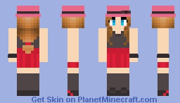Serena - from Pokemon Minecraft
