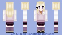 Kaede Akamatsu - Danganronpa V3 - Requested - ᴹᴵᴷᴬᴺ Minecraft