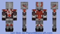 Antman (Marvel Cinematic Universe) Minecraft Skin