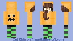 Halloween Reagan Minecraft Skin
