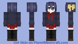 Rikka Takanashi; Tyrant's Eye Minecraft Skin