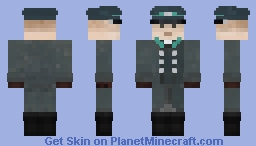 Deutsche Volkspolizei (East German People's Police) Minecraft Skin