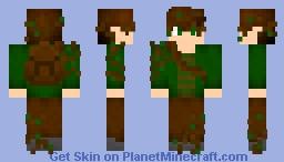 Wild Elven Man Minecraft Skin