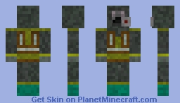 The Division 'Cleaner Flamer' Minecraft Skin