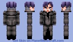 Urie Kuki (Tokyo Ghoul :re) Minecraft Skin