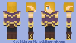 elf warrior dude Minecraft Skin