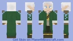 elf rogue dude Minecraft Skin