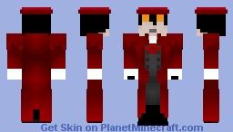 Alucard - Updated Minecraft Skin