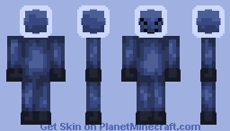 bubble creeper Minecraft Skin