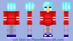 Here I am. Happy Halloween .w. *~FIRST GUY~* ++SkyeClan++ Minecraft Skin