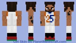 Derrick Rose, MVP Minecraft Skin