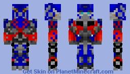 Optimus Prime (Transformers: Dark of the Moon) Minecraft Skin
