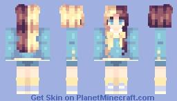 🐥 | half and half Minecraft Skin