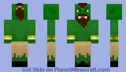 Orc - From The Elder Scrolls Minecraft Skin