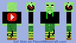 Goblin From Mars Skin!! Minecraft Skin