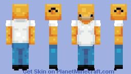 Homer S. Minecraft Skin