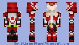 Kamen Rider Idunn  仮面ライダーイドゥン Minecraft Skin