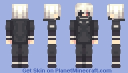 One eyed ghoul Minecraft Skin