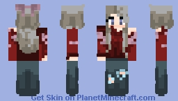 Christams skins because it is nearly chrismas haha Minecraft Skin