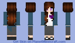 ~in memory of - piper moore~ Minecraft Skin