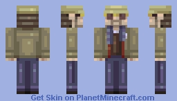 Mr. Robot Minecraft Skin