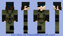 Naked Snake - Metal Gear Solid 3 (Updated) Minecraft Skin