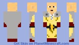 One Punch Man Minecraft Skin