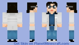 Otacon (Hal Emmerich) - Metal Gear Solid Minecraft Skin