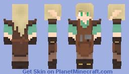 elf blacksmith dude Minecraft Skin