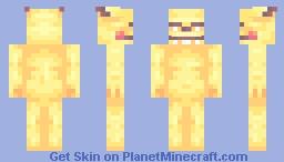 Pikachu, my Love Minecraft Skin