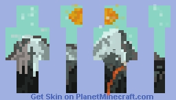 The Mountain Minecraft Skin