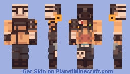 Overwatch - Roadhog Minecraft Skin