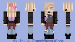 tehgingershark's contest/// round 3 Minecraft Skin