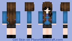 Soulless Frisk Minecraft Skin