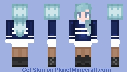 ❄️Winter is coming!!❄️ Minecraft Skin