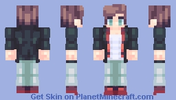 ♬₵ø~Ѻкḯℯ♬ - Look at this dorito torso Minecraft Skin