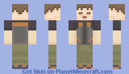 Pokemon Skin Pack - 5. Brock Minecraft Skin