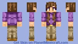 ♥~ Rere ~♥ Request | Bruce Banner Genderbend Minecraft Skin