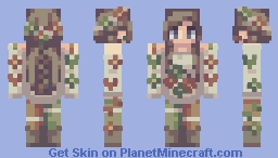 Them butterflies—they come alive when I'm next to you Minecraft Skin