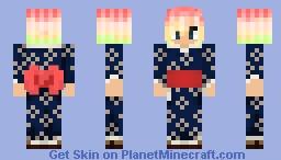 Kelly Painter Soulfang (Kimono) Minecraft