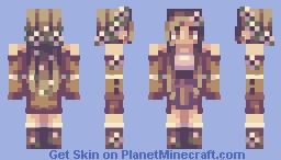 Thanksgiving Flowers ❀ Minecraft Skin