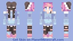 .•Aevlo and Wea's Contest| Nash•. Minecraft Skin