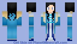 Nitzia HandsOfFaithExodar - By Wolf40013 Minecraft Skin
